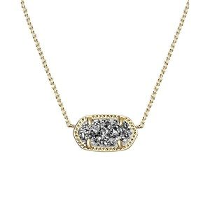 Kendra Scott Elise Drusy Necklace - Gold